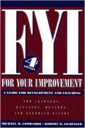 Ломбардо Майкл М. - FYI. Книга для Вашего Развития (ЛП)